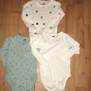 Girl 3 pack Long sleeve Shirt